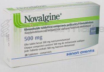 Thuốc Novalgine