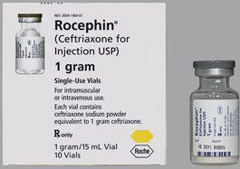 Thuốc Rocephin