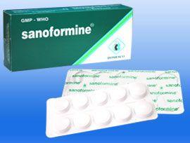 Thuốc Sanoformine