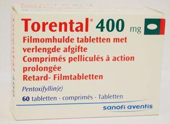 Thuốc Torental - Cách dùng, liều dùng, tác dụng