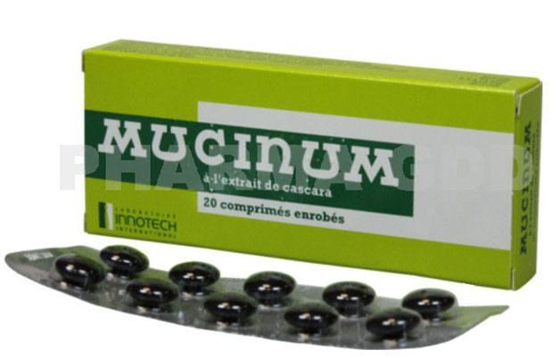 Mucinum – à l'extrait de cascara