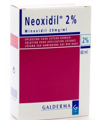 Thuốc Neoxidil.
