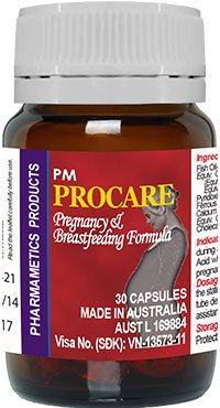thuốc sắt cho bà bầu procare
