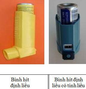 Hướng dẫn sử dụng các dụng cụ phun hít trong bệnh hô hấp