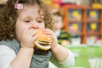 Trẻ béo phì ngày một gia tăng