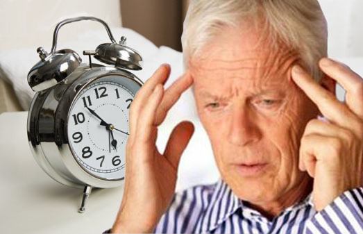 Tình trạng mất ngủ tăng dần theo tuổi