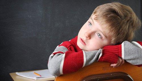 Tình trạng mất khả năng học tập ở trẻ nhỏ