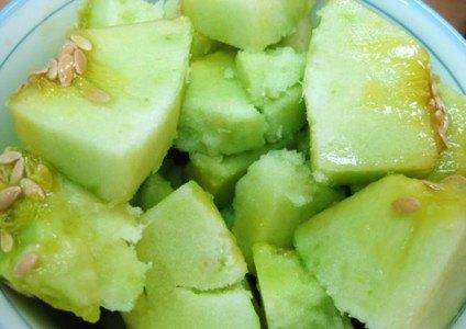 Hạt quả dưa bở tác dụng tán kết, tiêu ứ