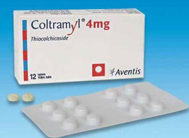 Thuốc Coltramyl – giãn cơ trung ương