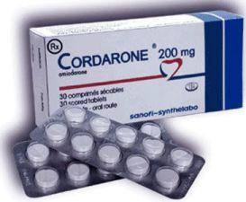 Thuốc Cordarone – Amiodarone chlorhydrate 200 mg