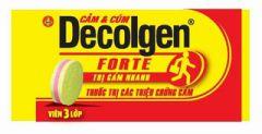 Thuốc Decolgen – thuốc trị cảm cúm nhức đầu sổ mũi