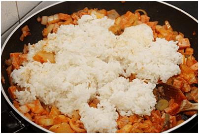 Cách làm cơm chiên bí đỏ