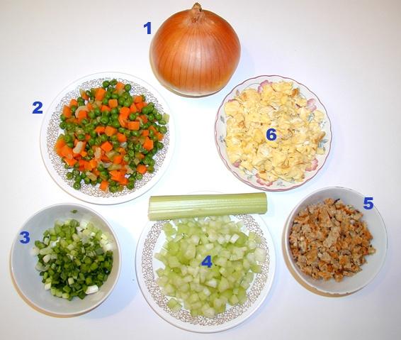 Cách làm món cơm chiên dương châu thơm ngon