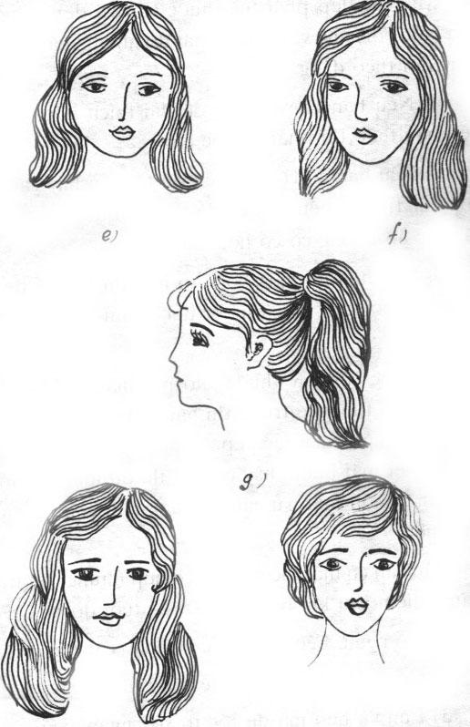 Một số mái tóc phù hợp với khuôn mặt