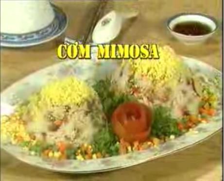Cách làm cơm MIMOSA ngon đặc biệt ít ai biết