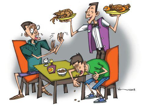 Dị ứng thức ăn và điều trị