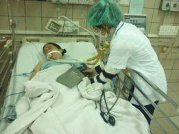 Hình ảnh đo huyết áp cho bệnh nhân tai biến mạch máu não