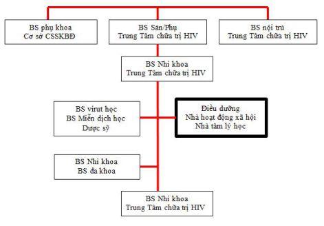 Hình 2: Chăm sóc đa lĩnh vực đối với trẻ và gia đình bị HIV gây nhiễm