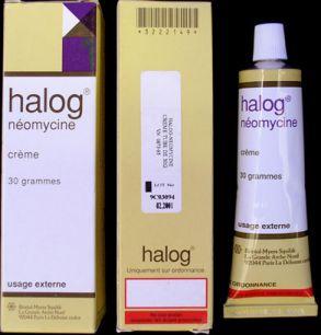 Thuốc halog-néomycine crème (halog neomycin cream)
