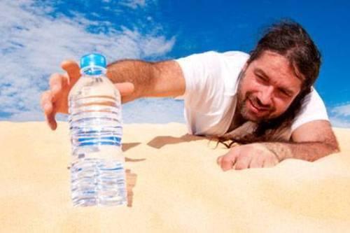 Cảm thấy khát nước