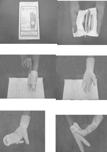 kỹ thuật mang găng tay vô khuẩn