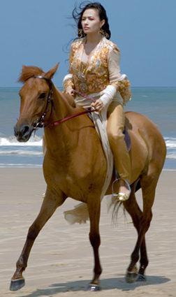 Thực đơn giảm cân của người đua ngựa