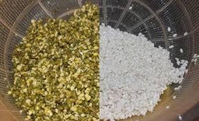 Nguyên liệu gạo, đậu xanh