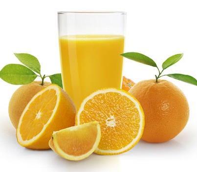 Nước cam tươi giúp da sáng đẹp
