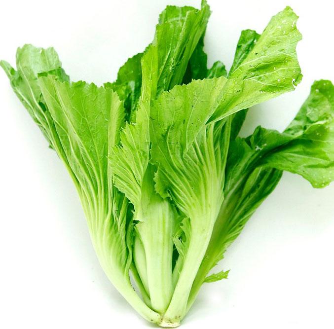 chữa bệnh từ cải xanh
