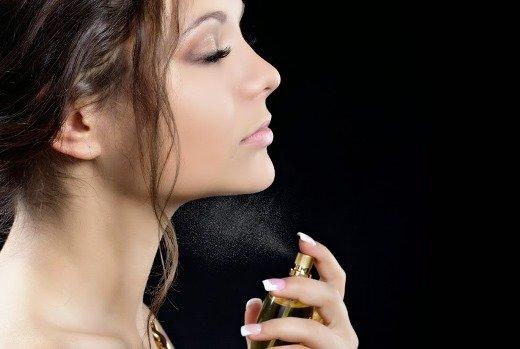 Điều cấm kỵ là phun đẫm nước hoa